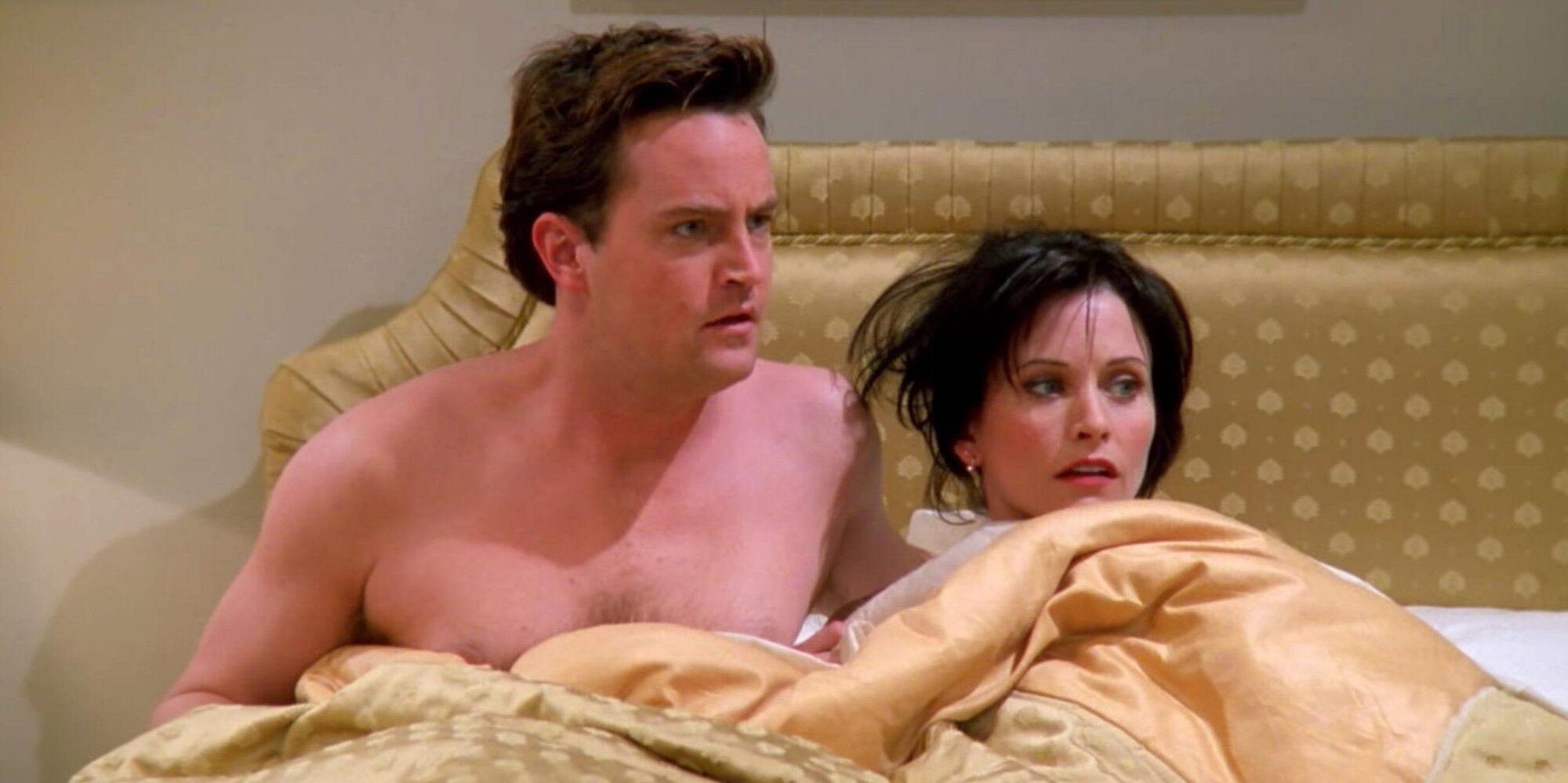 This is brand-new information! Courteney Cox and Matthew Perry are related
