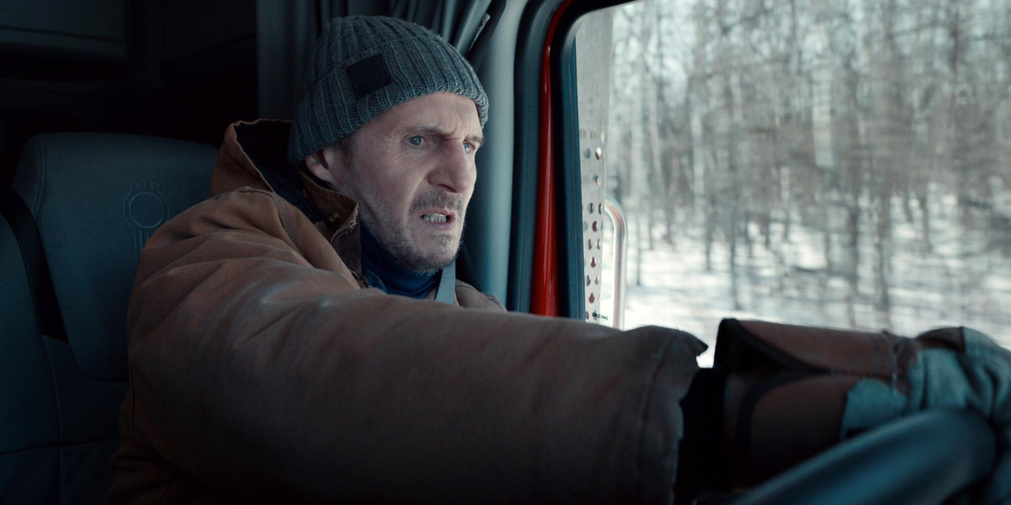 'The Ice Road' star Liam Neeson can't believe he's still making action movies: 'I'm 69!'