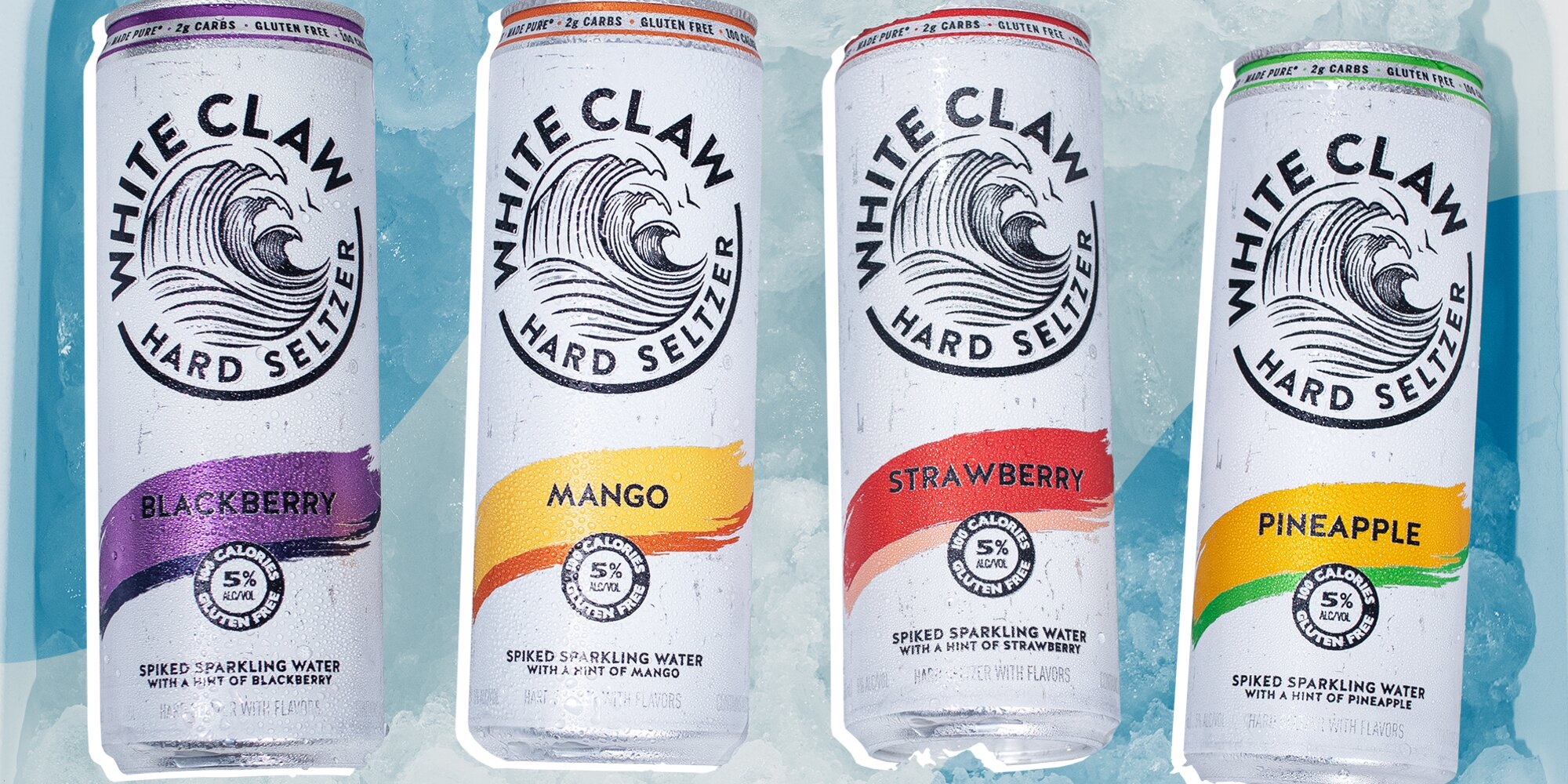 White Claw Is Launching 3 New Flavors and 2 Higher Alcohol Drinks, Just in Time for Summer