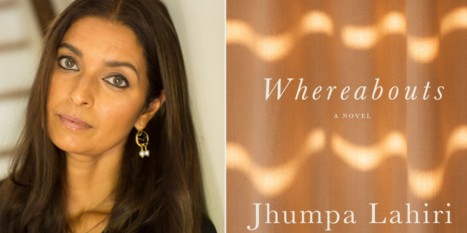 Get all the details on Jhumpa Lahiri's 'Whereabouts' book tour