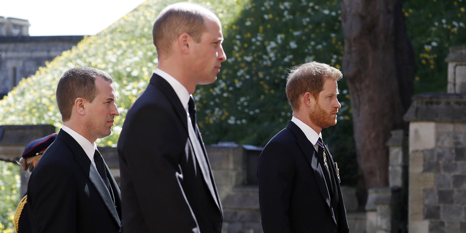 Prince Harry and Prince William Reunite at Grandfather Prince Philip's Funeral