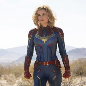 Brie Larson Talks Playing Captain Marvel S Carol Danvers Ew Com 21 secrets about the captain marvel costumes that will make you say, wait, that's really cool. brie larson talks playing captain