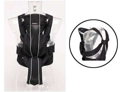 f010c98838b The Baby Bjorn Synergy ( 120) combines the best parts of their other models  of baby carriers- the lumbar support of the Baby Bjorn Active and the mesh  ...