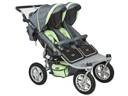 Valco Baby Runabout Tri Mode Twin Stroller: It Can Handle It