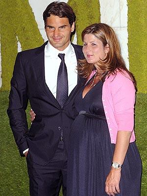 Roger And Mirka Federer Celebrate Wimbledon Win People Com
