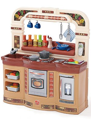 Step 2 LifeStyle Gourmet Café Kitchen: For Multiple Cooks in ...
