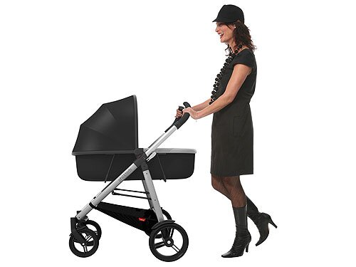 Review Phil Amp Teds Smart Stroller With Peanut Bassinet People Com