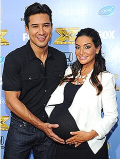 Mario And Courtney Lopez Welcome Son Dominic People Com