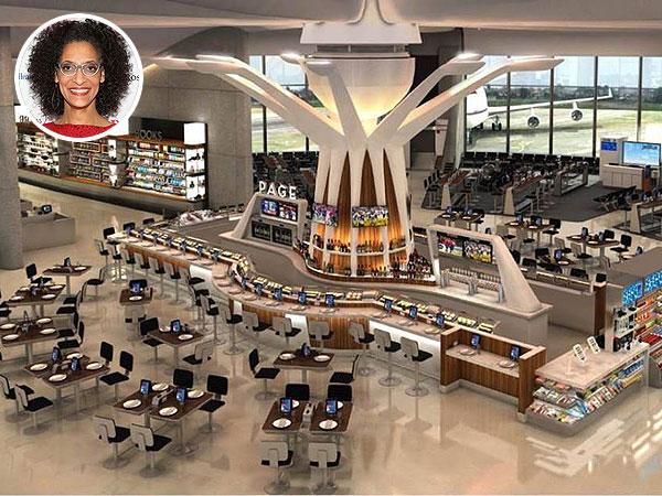 Courtesy Ronald Reagan Washington National Airport. Inset:Robin Marchant/Wireimage