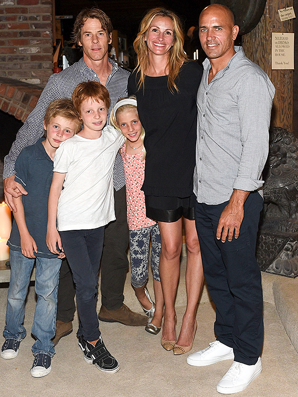 Julia Roberts And Kids Pose For Rare Family Photo People