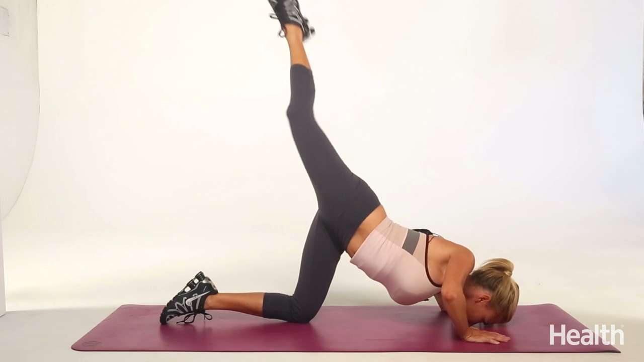Stretch, bend and kick
