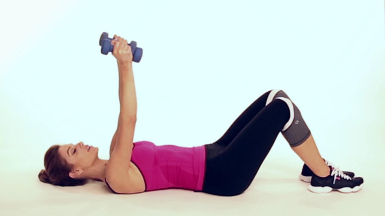 Close-Grip Triceps Press