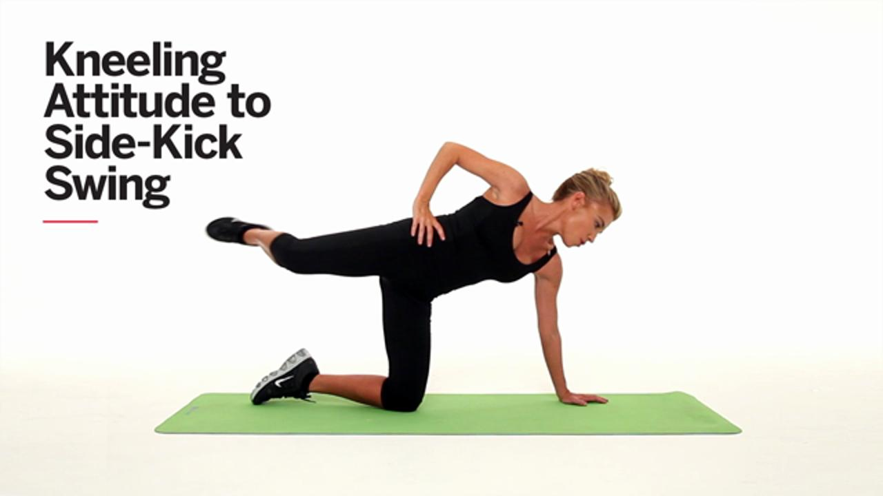 Tone your hips, thighs and lower belly