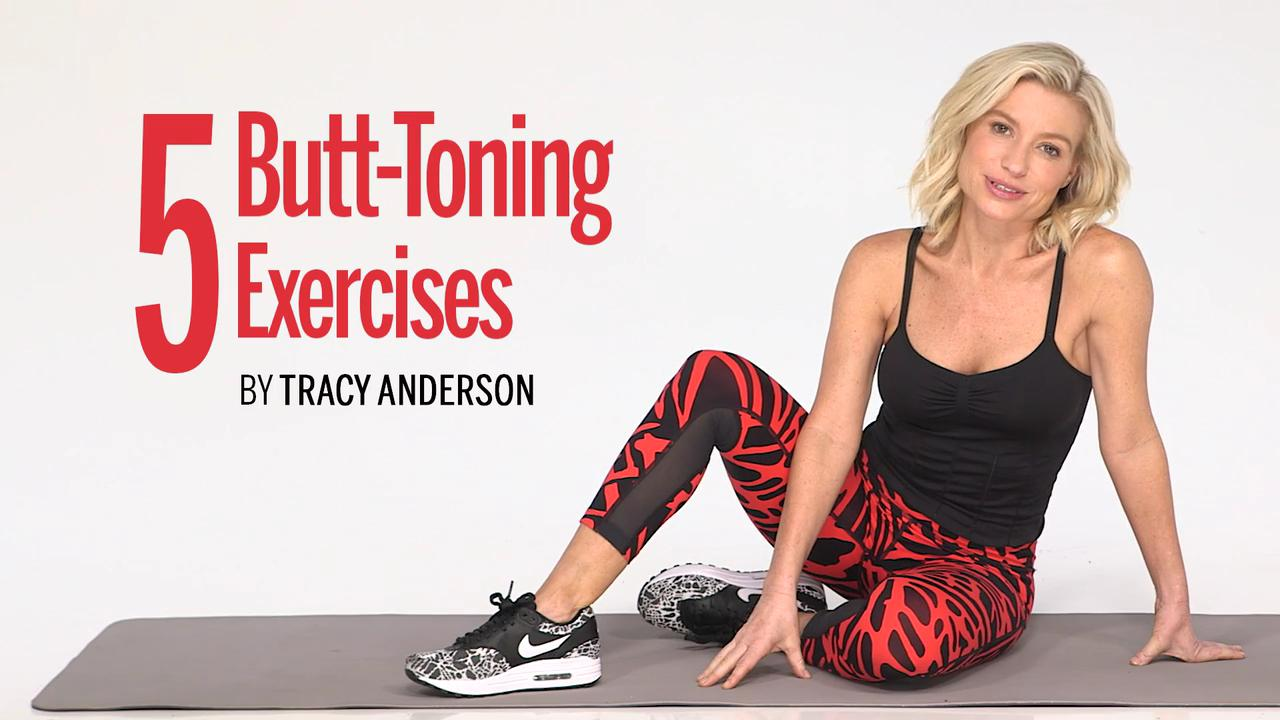5 Butt-Toning Exercises