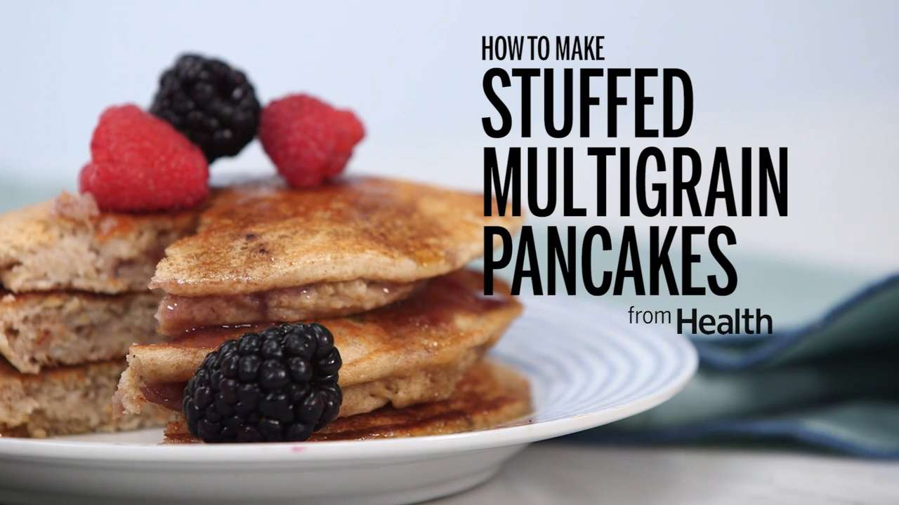 Stuffed Multigrain Pancakes