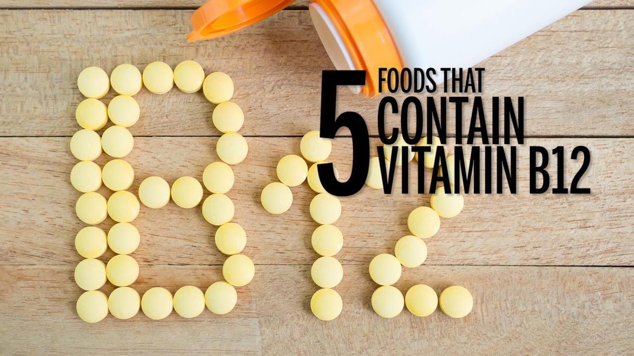 The best foods for vitamin B12