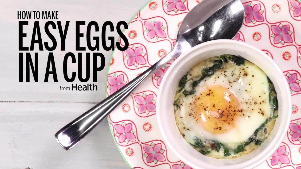 How To Make Easy Eggs In A Cup