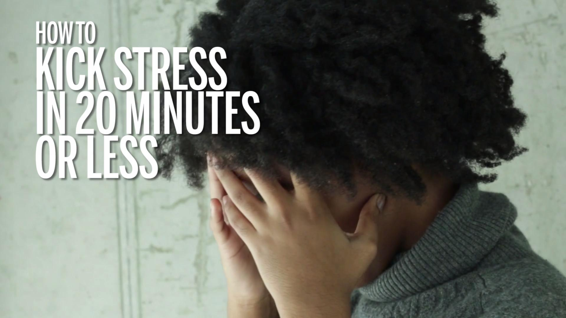 Surprising stress-busters