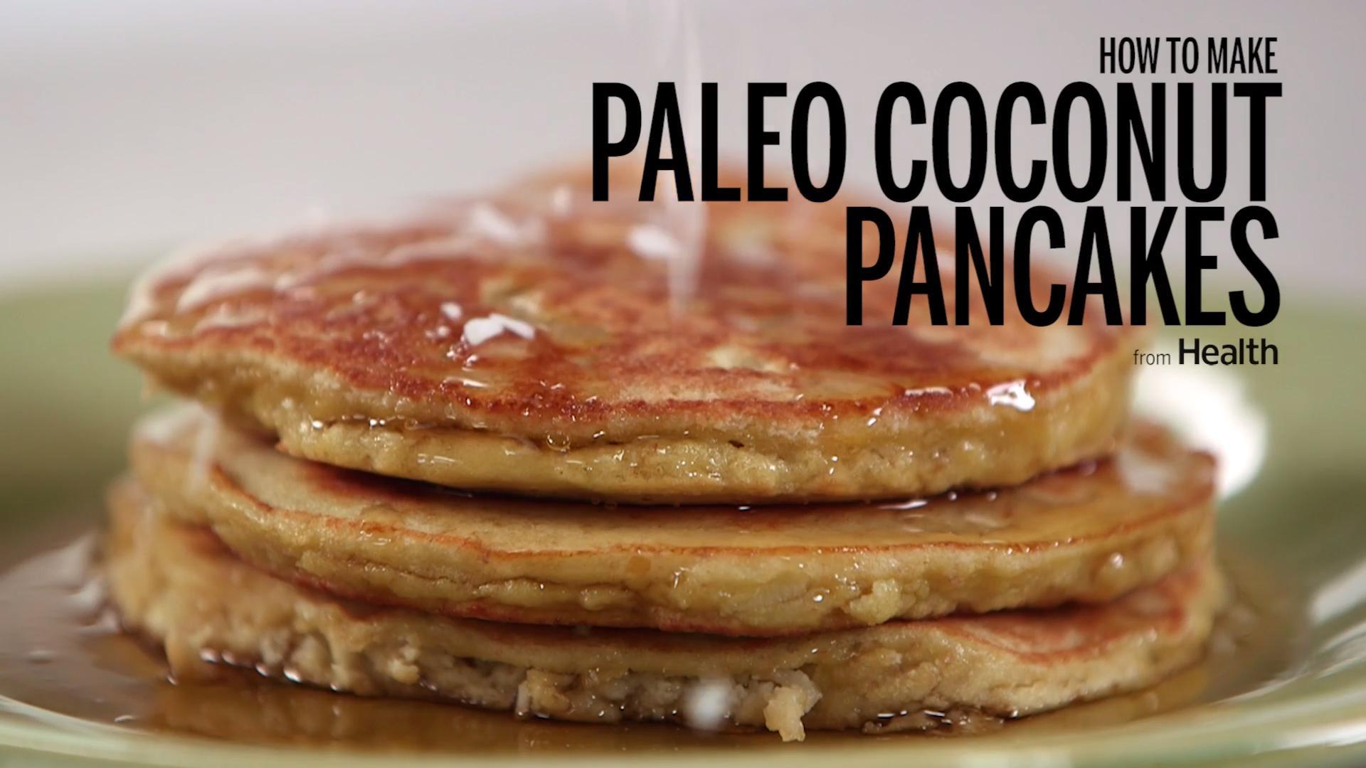 Paleo Coconut Pancakes