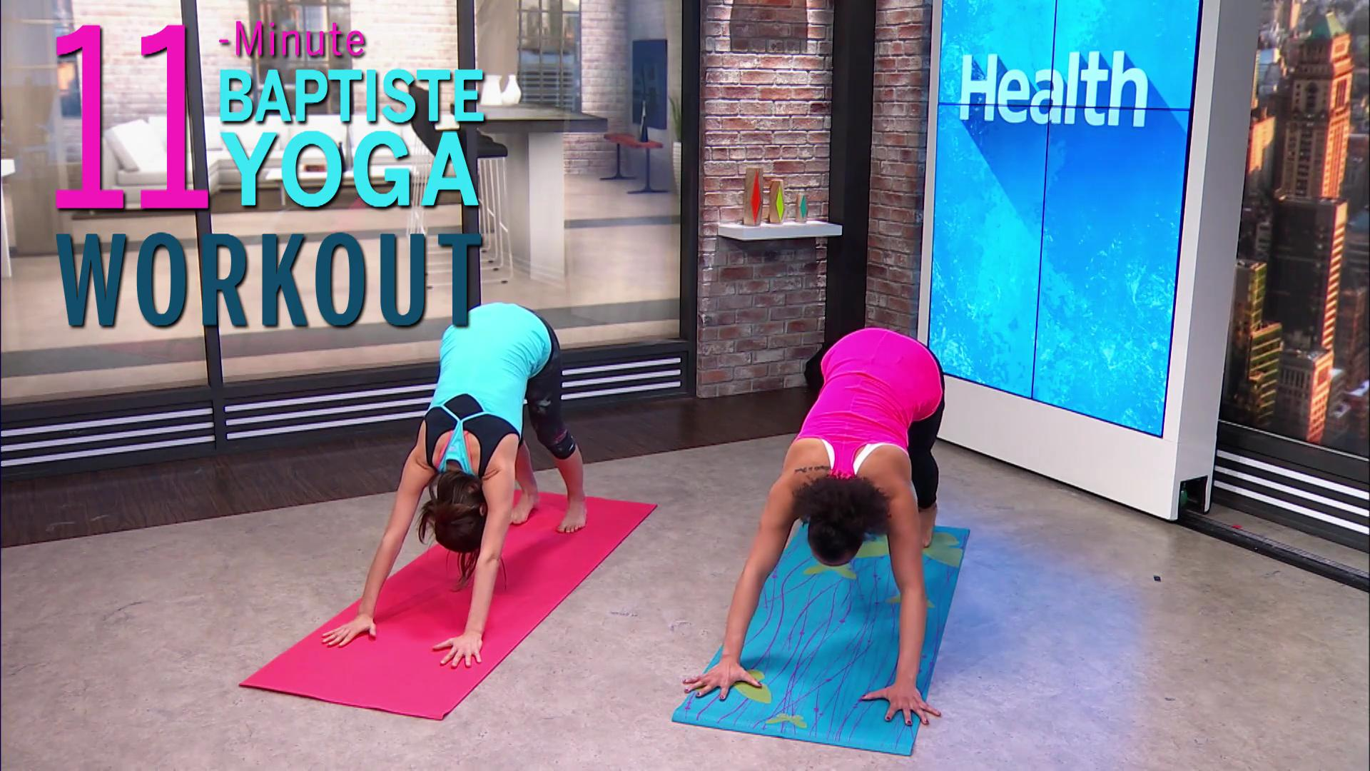 Stress-Busting Yoga Workout Video
