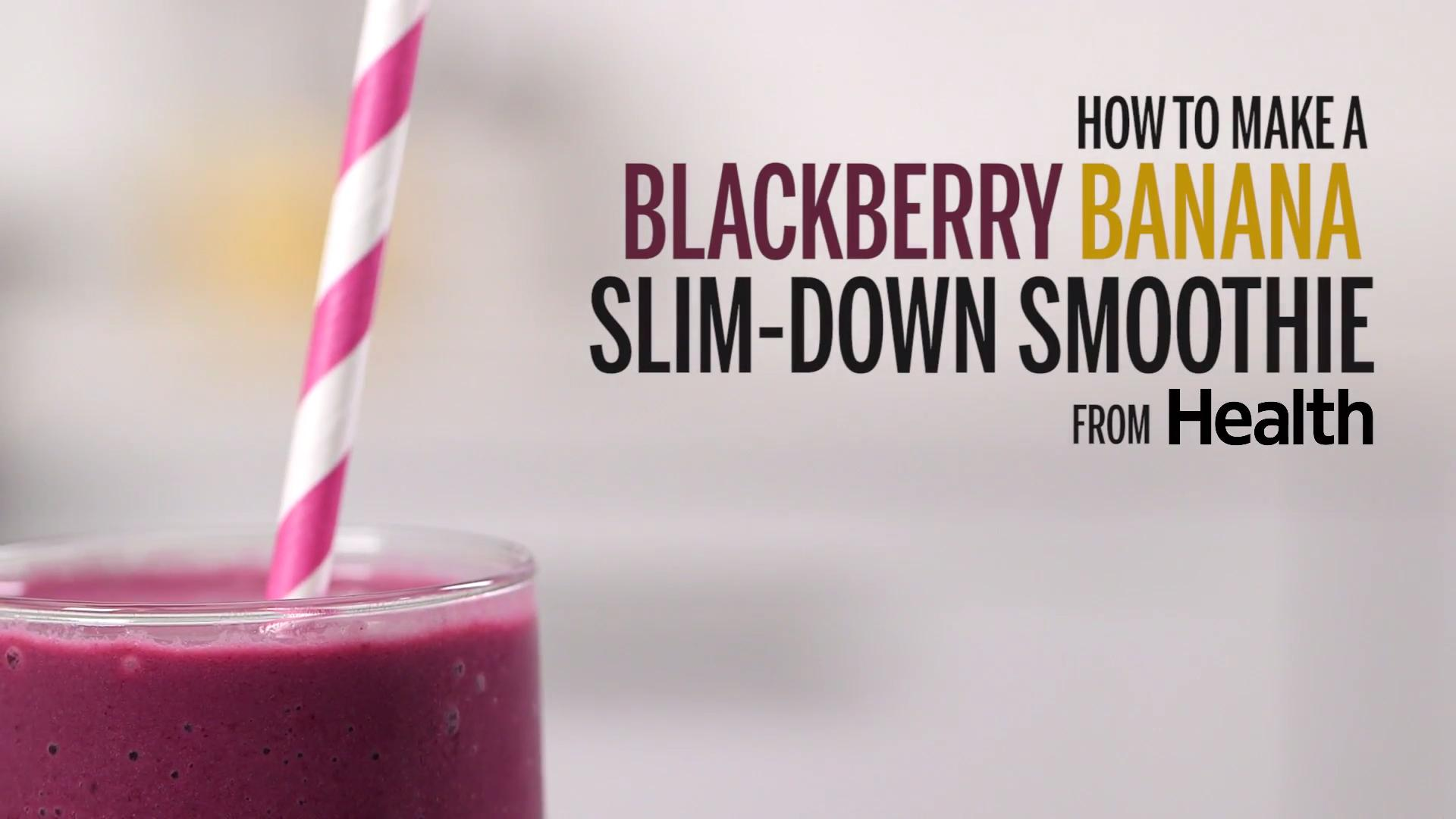 Blackberry-Banana Slim-Down Smoothie
