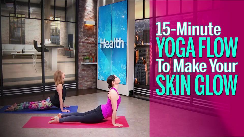 Skin-Brightening Yoga Workout Video