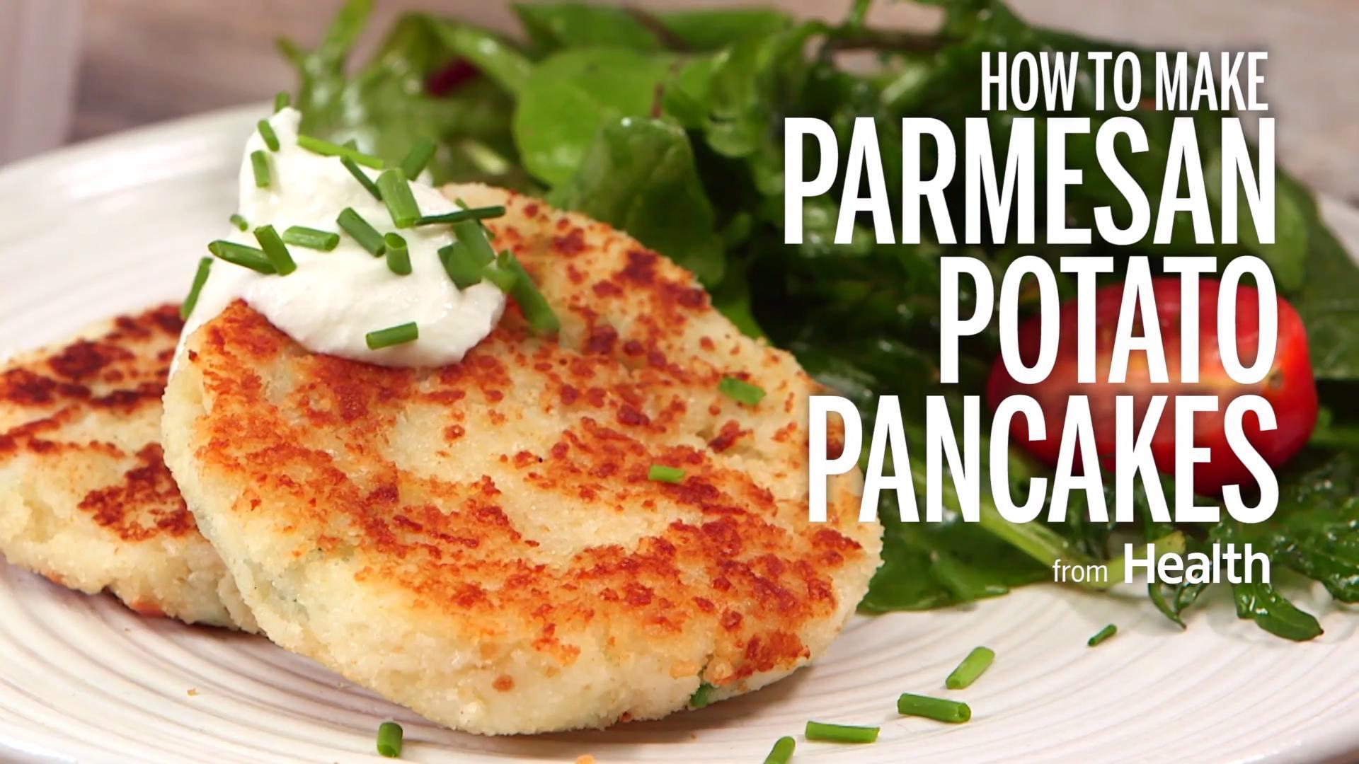 Oven-Baked Potato Pancakes