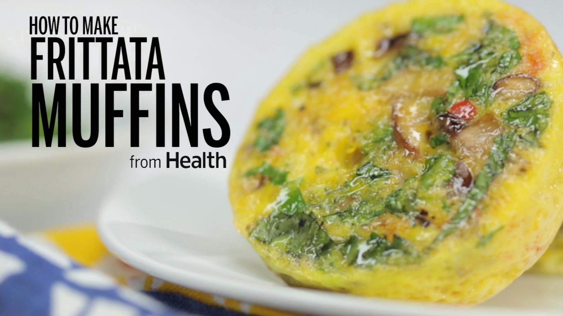 Individual Vegetable Frittatas