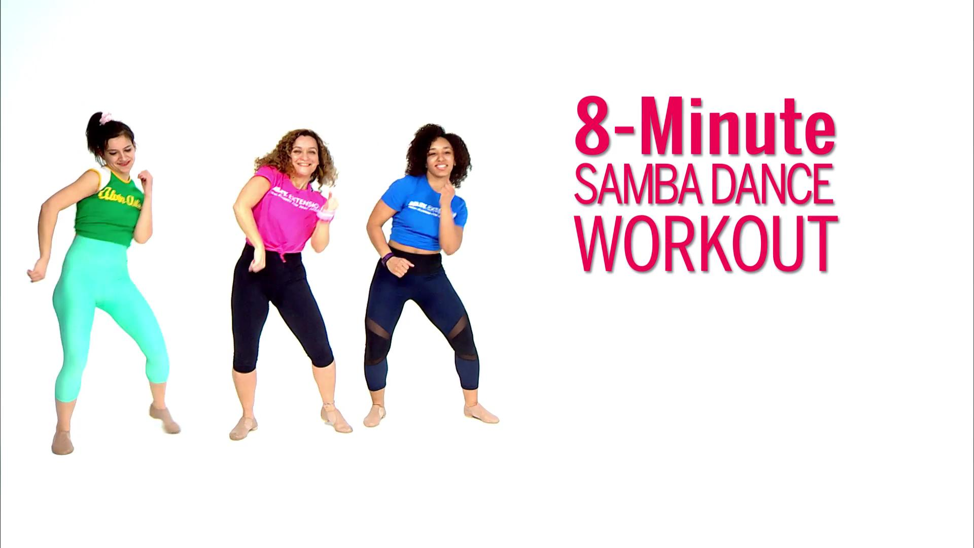 8-Minute Samba Dance Workout