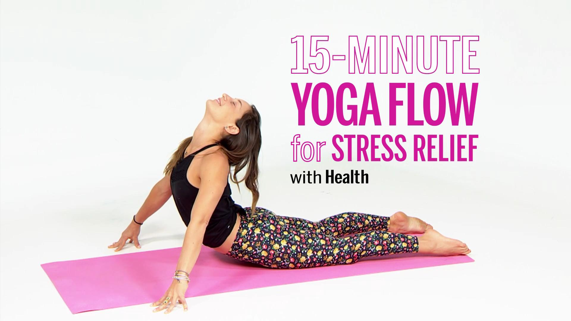 Stress Relief Yoga Workout Video