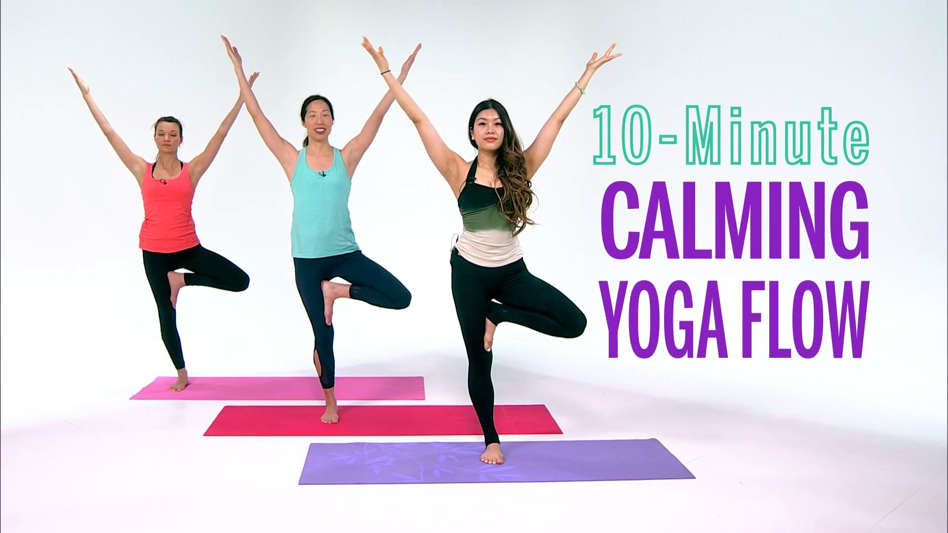 Calming Yoga Workout Video