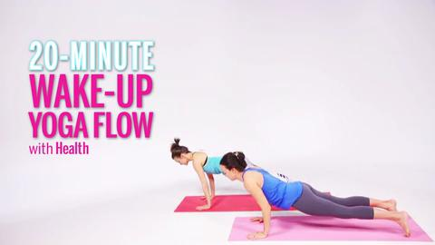 Invigorating Wake-Up Yoga Workout Video