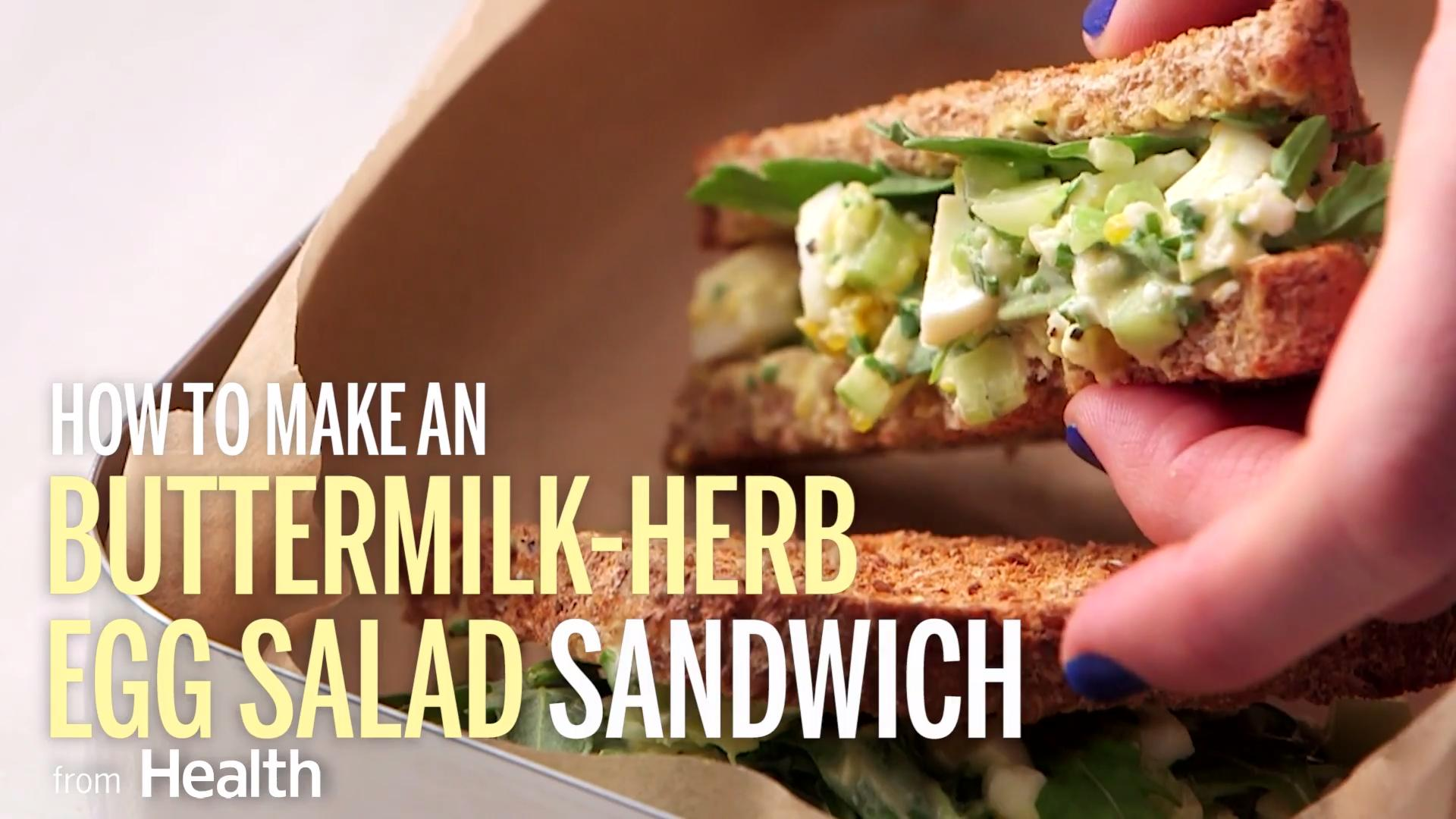 Buttermilk-Herb Egg Salad Sandwich