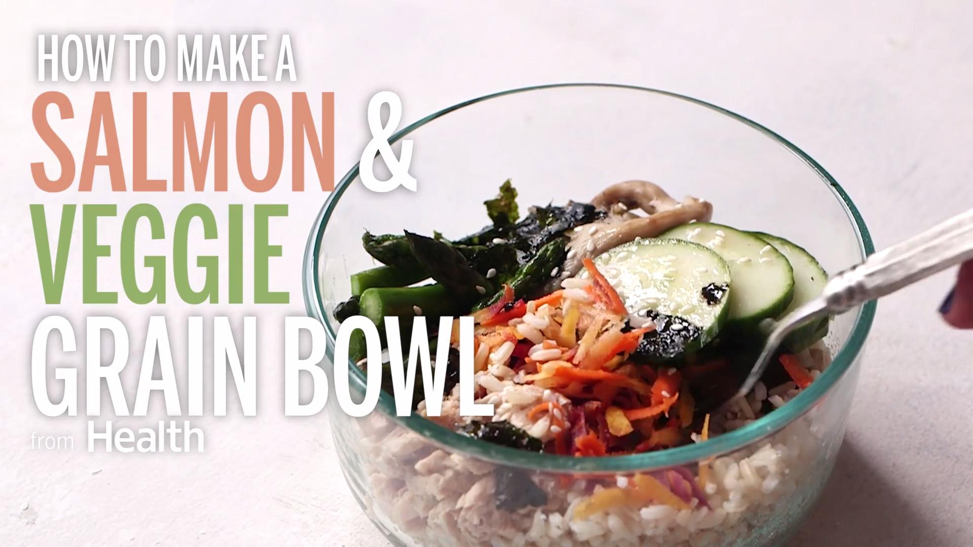 Salmon Grain Bowl