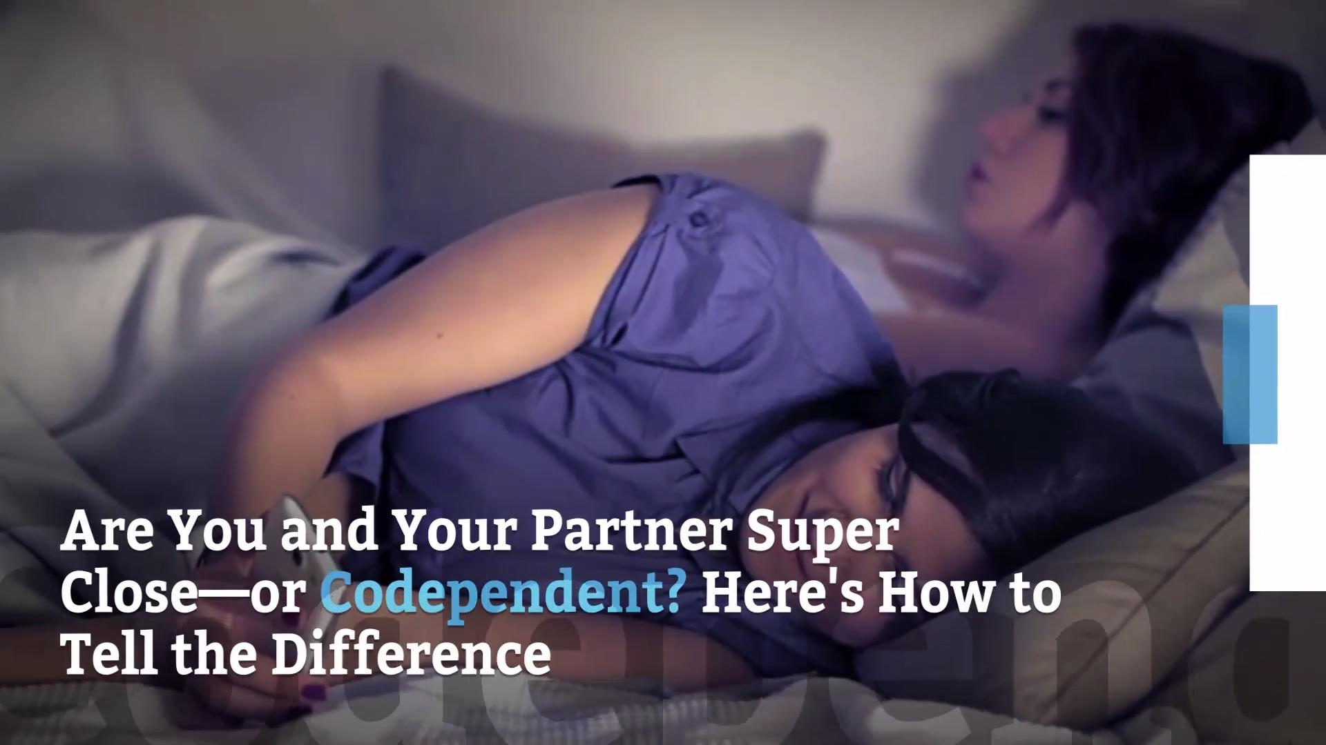 Signs you're in a codependent relationship