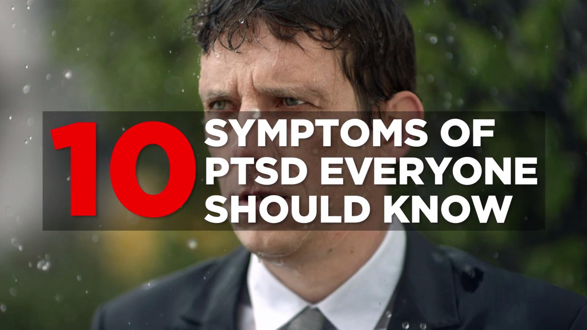 PTSD signs and symptoms