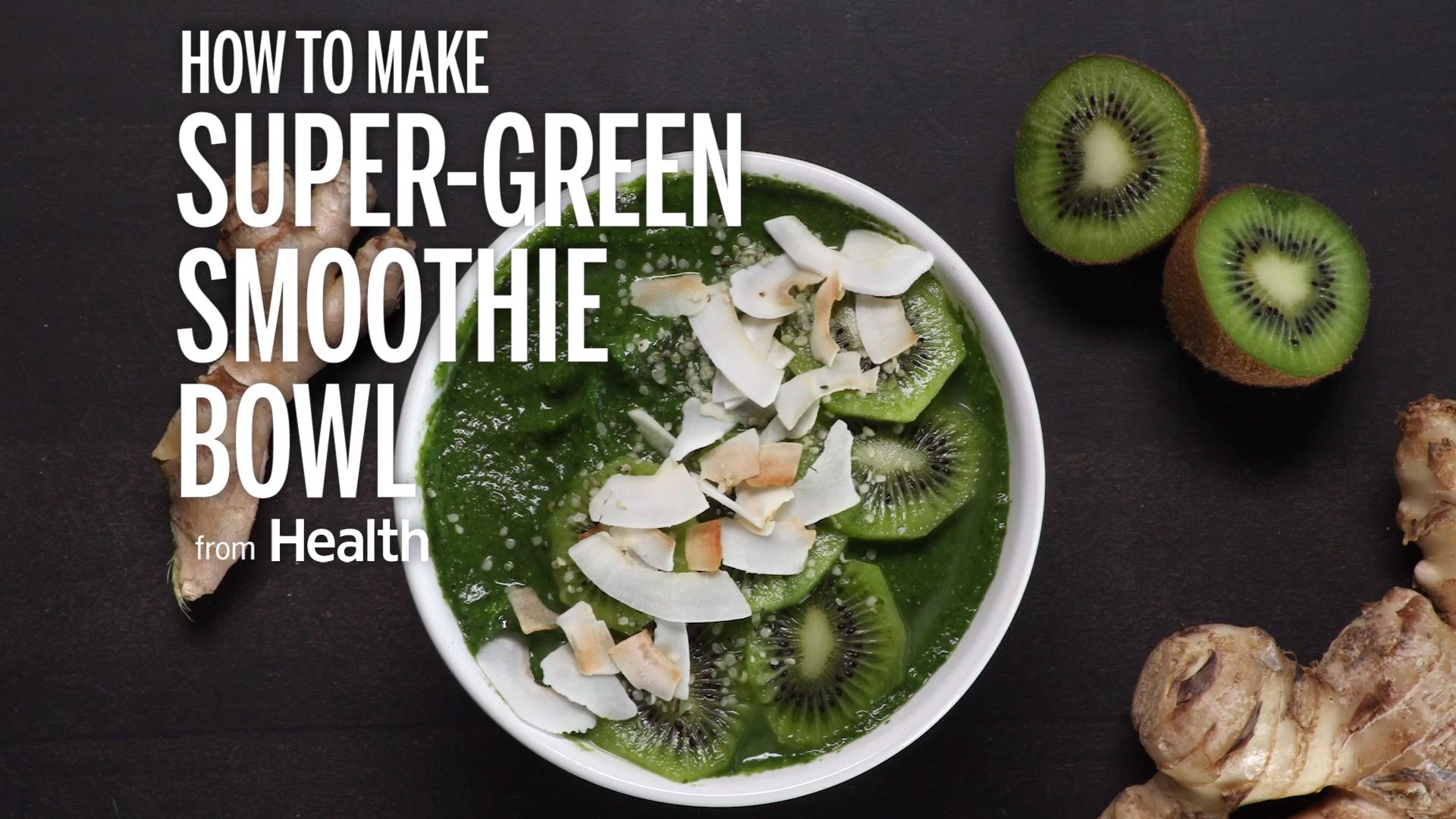 Super-Green Smoothie Bowl