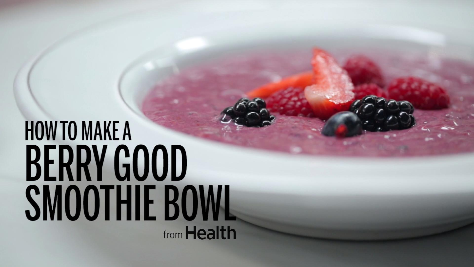 Berry Good Smoothie Bowl