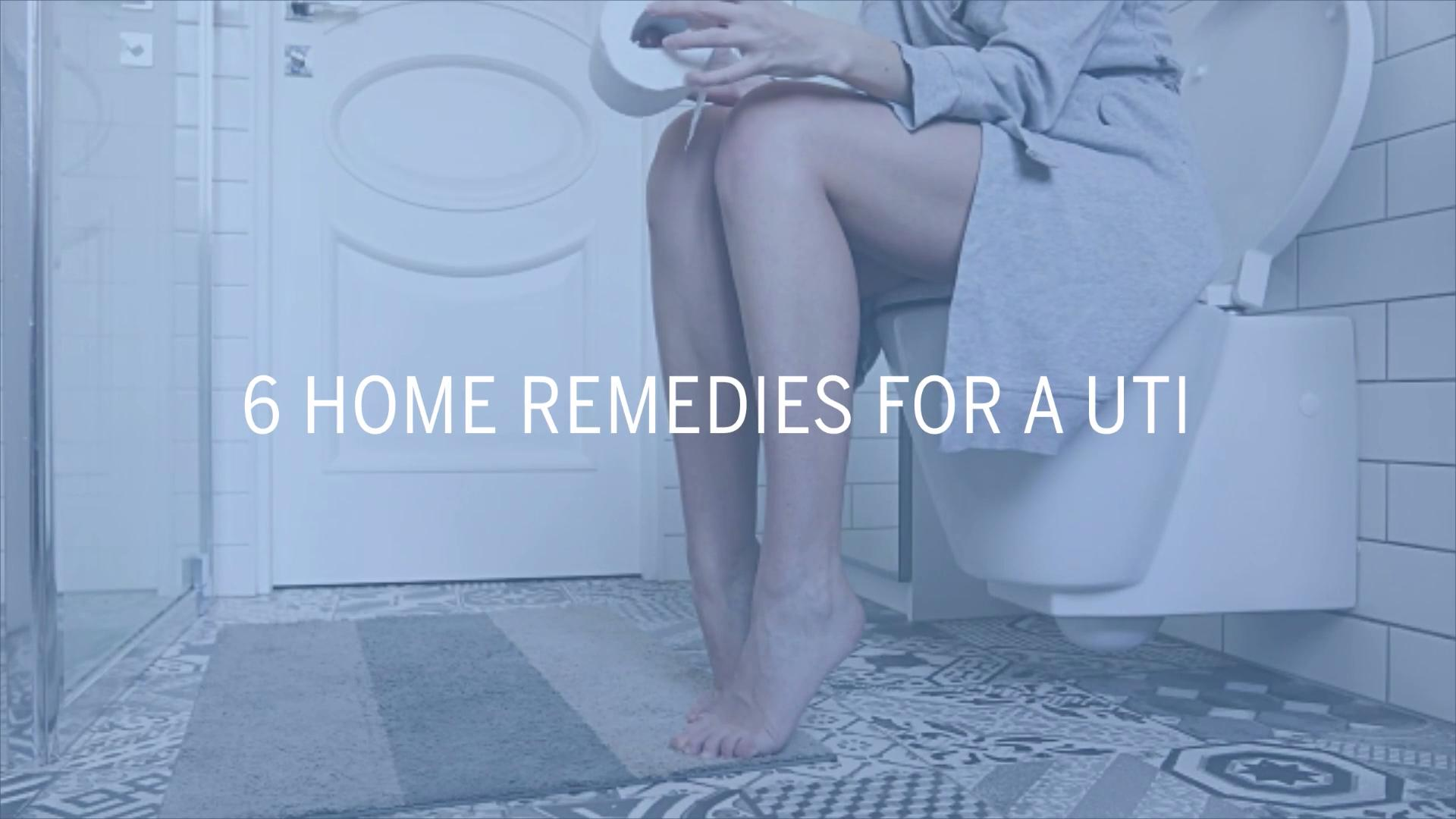 How to get rid of a UTI