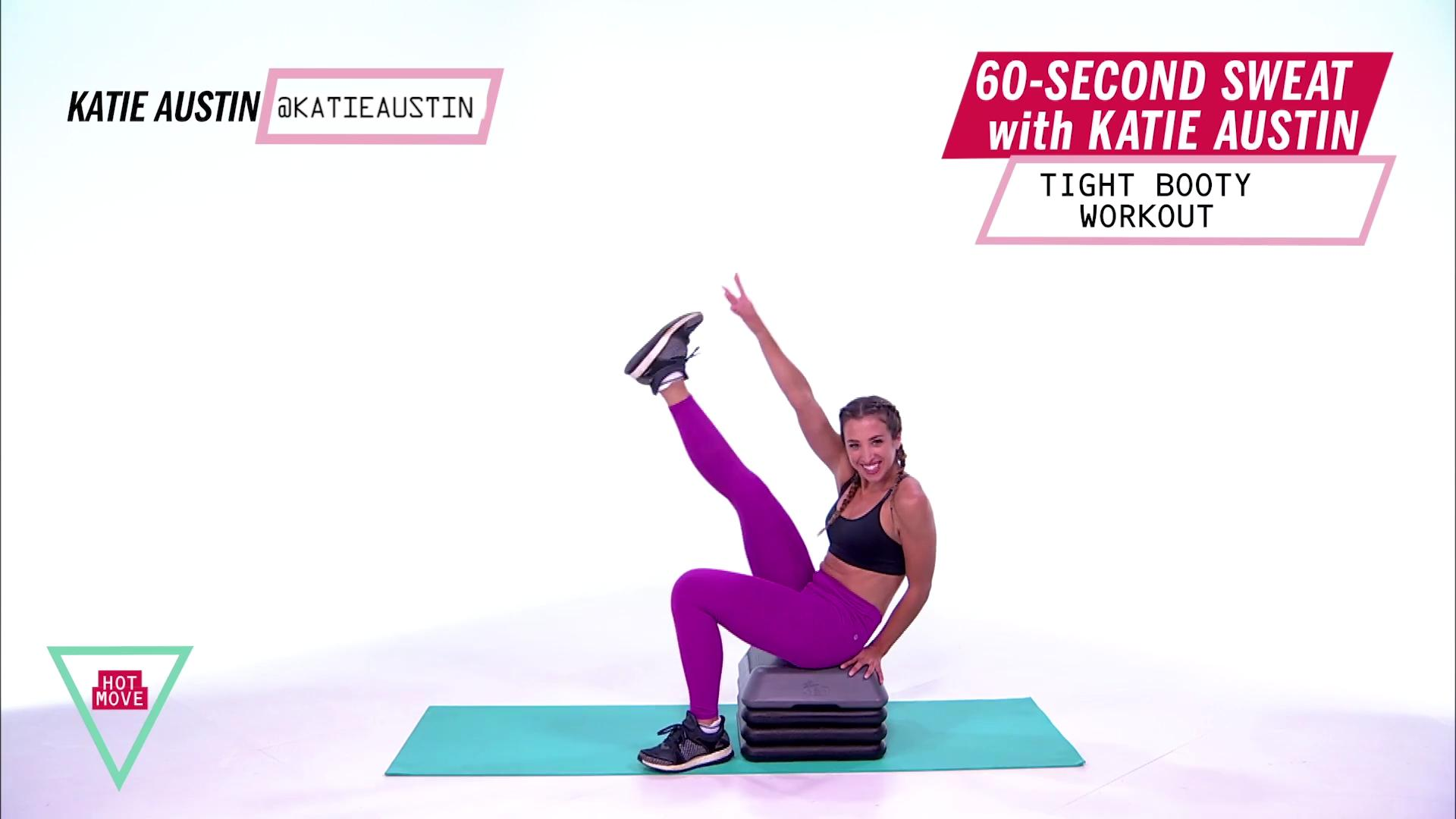 You Can Do Katie Austin's Booty-Tightening Workout in Just 60 Seconds