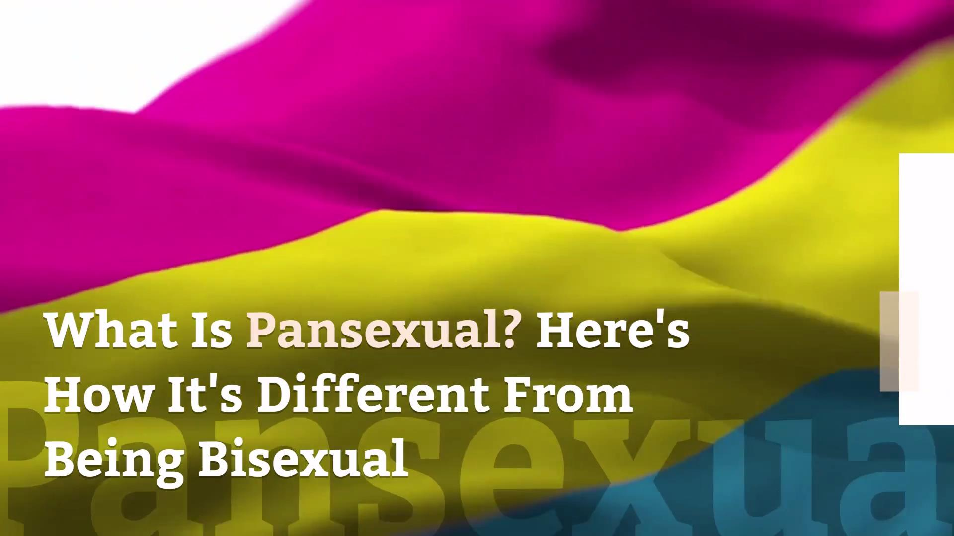What Is Pansexual Here S How It S Different From Being Bisexual Health Com
