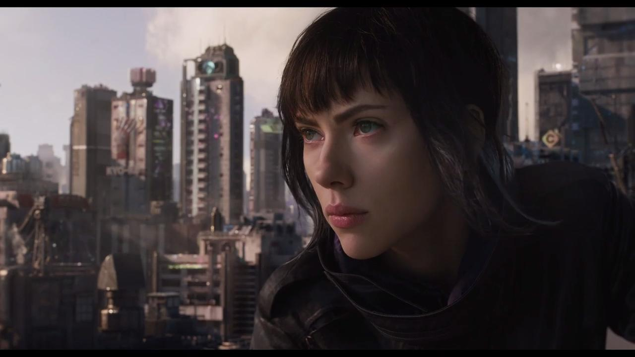 <em>Ghost in the Shell</em> unleashes Scarlett Johansson's Major in new action-packed trailer