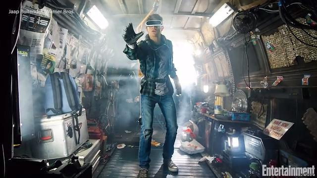 See an exclusive first look at Steven Spielberg's <em>Ready Player One</em>