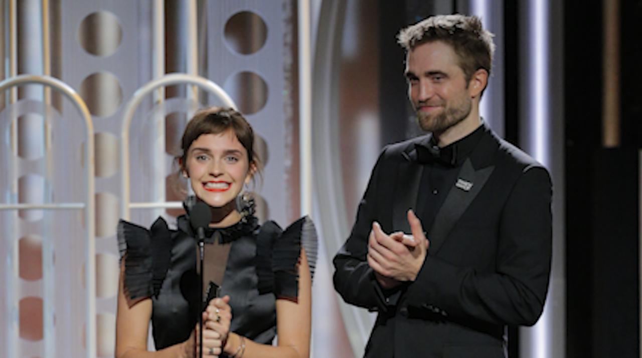 Harry Potter Pals Tom Felton Emma Watson Play Guitar Together People Com