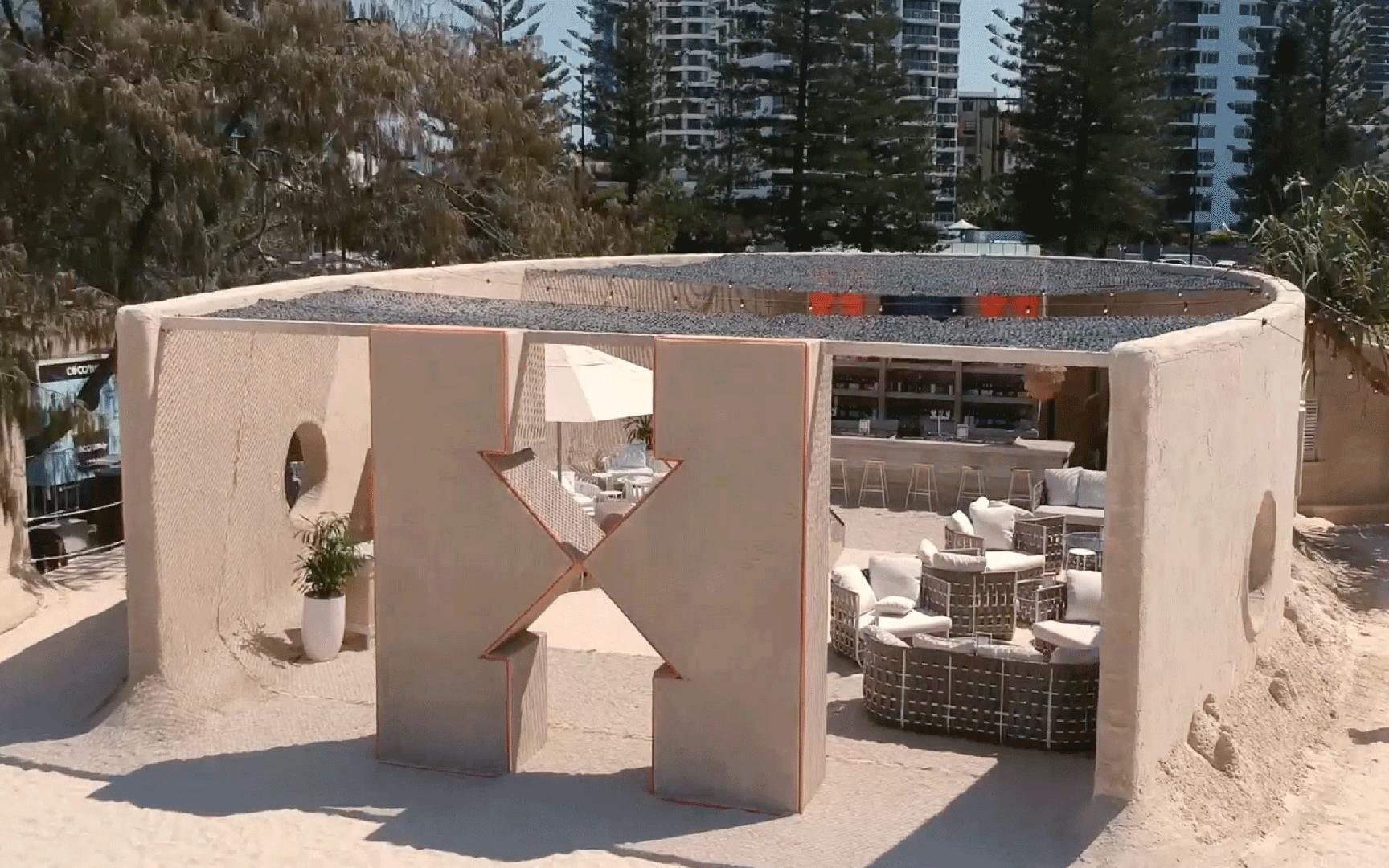You Can Hang Out Inside a Giant Sand Castle in Australia (Video)