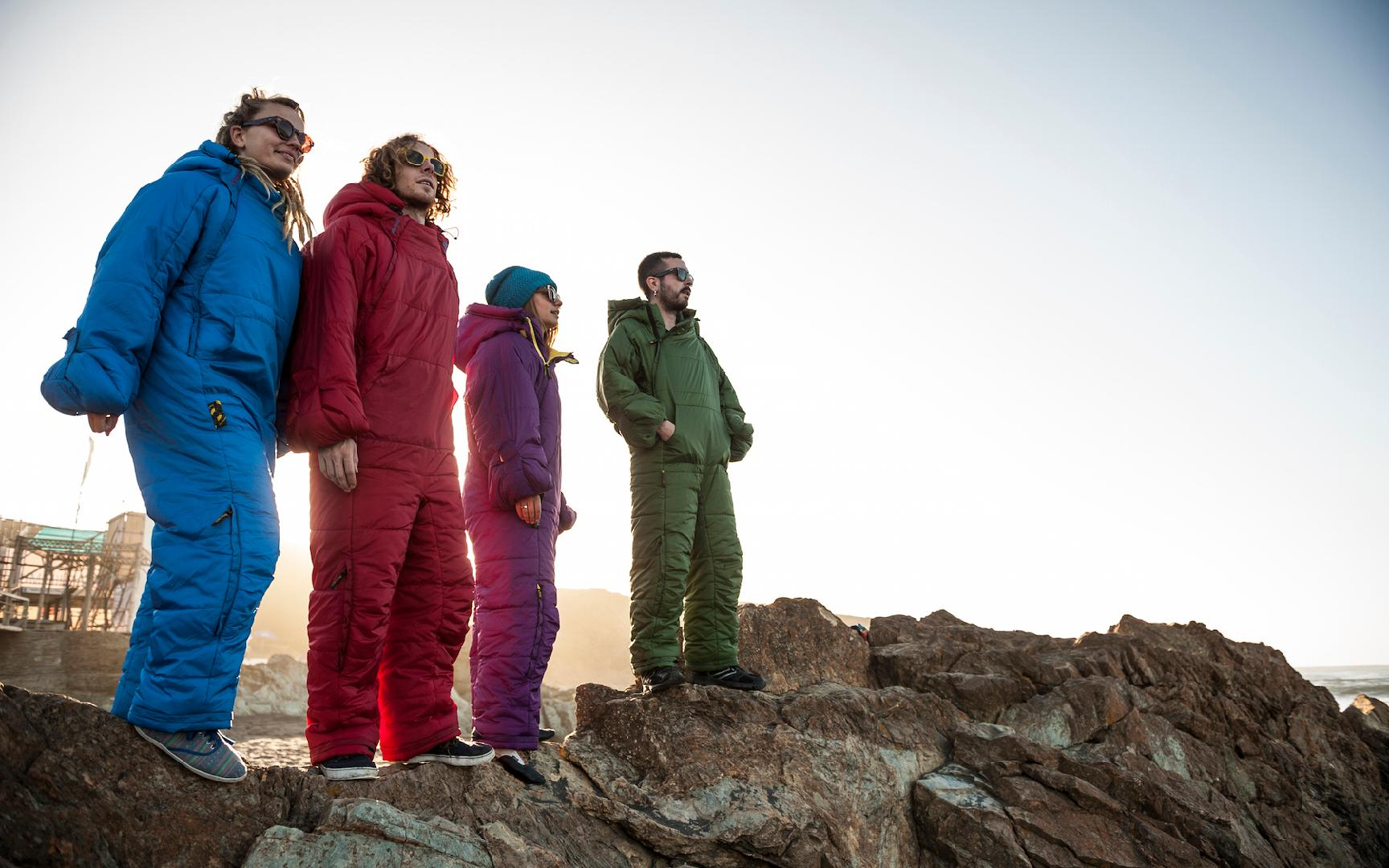 This Onesie Sleeping Bag Is the Camping Gear of Your Dreams (Video)