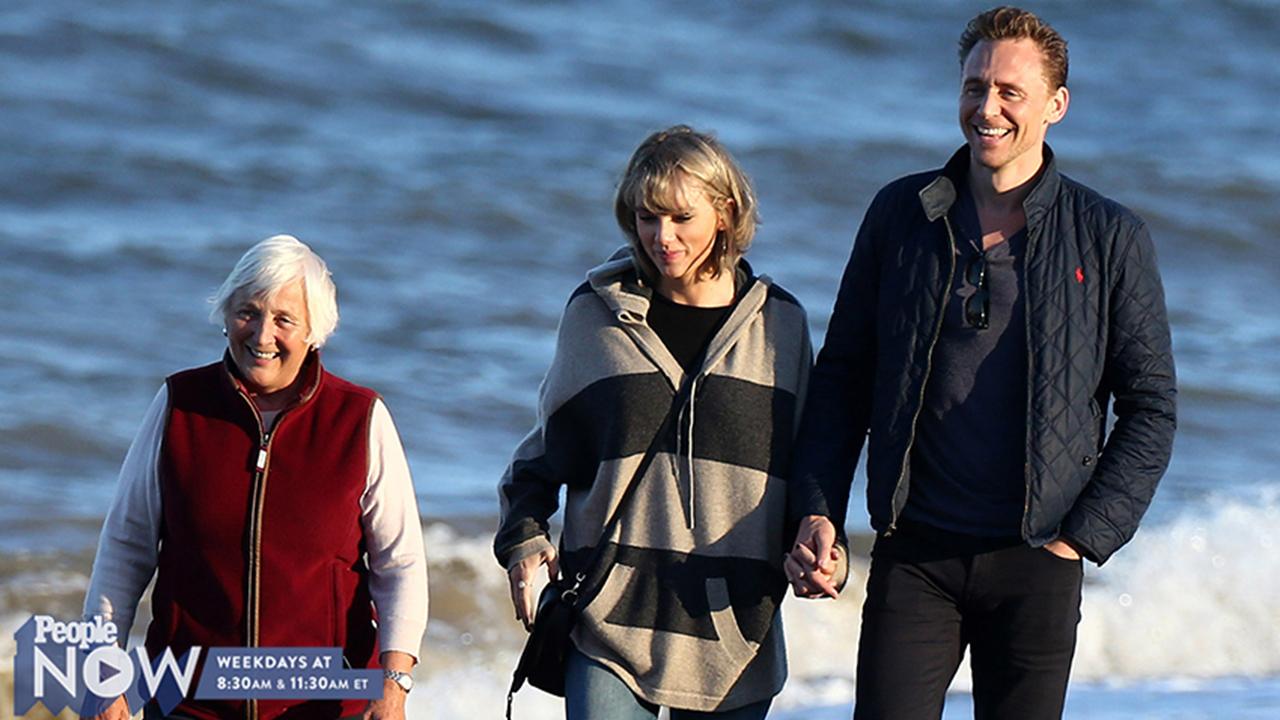 Taylor Swift Meets Tom Hiddleston S Mom People Com