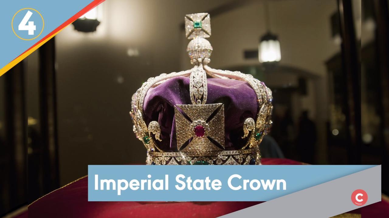 The Greville Emerald Kokoshnik Replica Tiara,Princess Eugenie Wedding Tiara HG086A