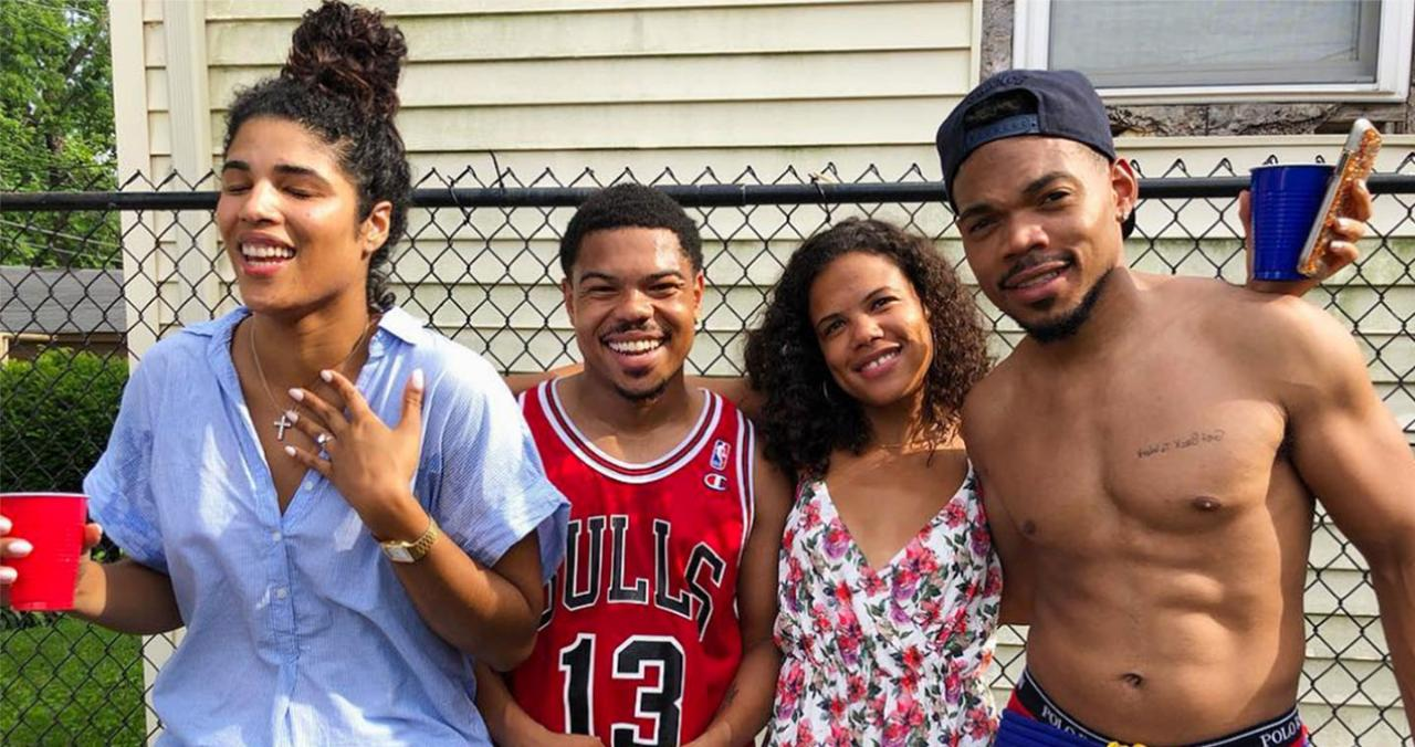 Chance The Rapper Marries Longtime Girlfriend Kirsten Corley People Com