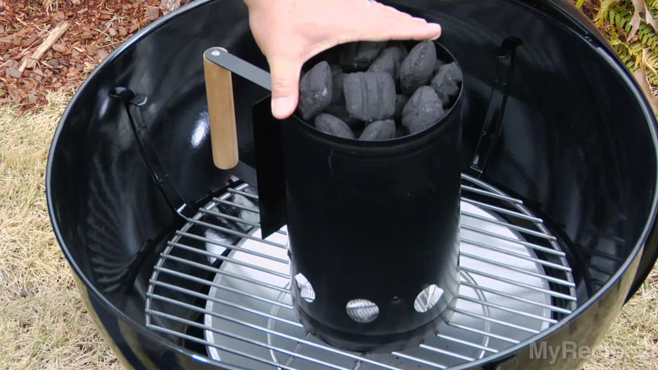 How do I light a charcoal grill?